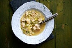 Chicken and Orzo Soup with Lemon Recipe