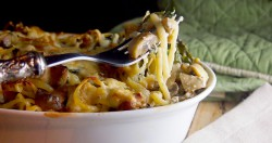 Chicken Spinach Pasta Bake Recipe