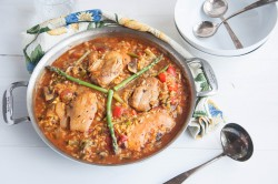 Chicken Thighs Paella Recipe