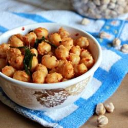 Chickpeas With Sesame