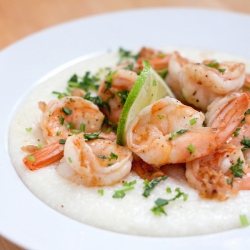 Chile Lime Shrimp and Grits Recipe