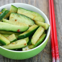 Chinese Spicy Cucumber Salad Recipe