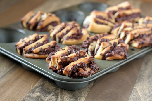 Chocolate Cinnamon Fantails