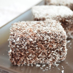 Chocolate Coconut Lamingtons Recipe