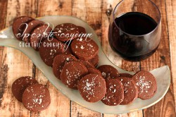 Chocolate-Cayenne Cocktail Cookies