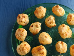 Chorizo and Manchego Gougeres