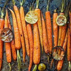 Cinnamon and Lime Roasted Carrots Recipe
