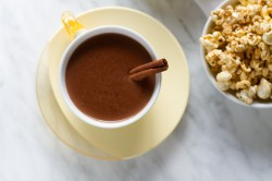 Cinnamon and Tequila Hot Chocolate