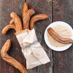 Cinnamon-Sugar Gluten Free Churros