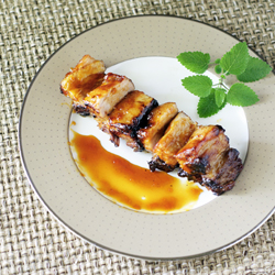 Citrus-Glazed Pork Belly