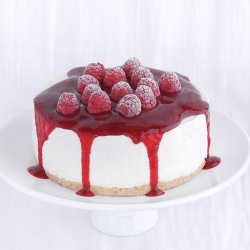 Coconut Raspberry Cheesecake Recipe