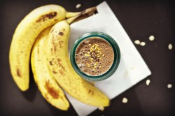 Coffee Chocolate Banana Smoothie Recipe
