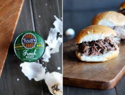 Coffee Garlic Roast Beef