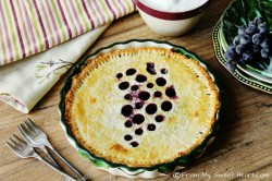 Concord Grape Tart