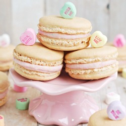 Conversation Heart Macarons Recipe