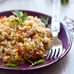 Cous Cous with Vegetables
