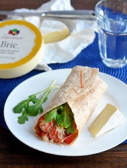 Crab Bacon Brie Cheese Wrap Recipe