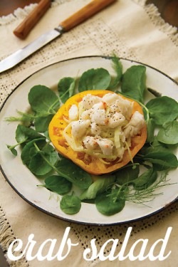 Crab Salad with Fennel