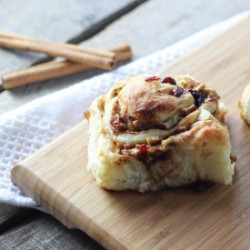 Cranberry Apple Sticky Buns