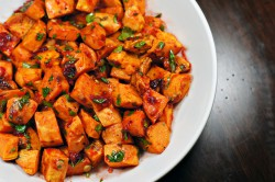 Cranberry Chipotle Sweet Potatoes