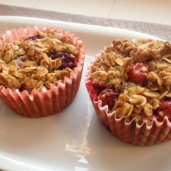 Cranberry Oat Muffins Recipe