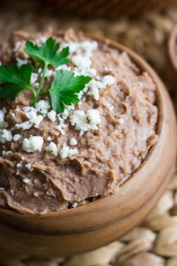 Crockpot Refried Beans Recipe