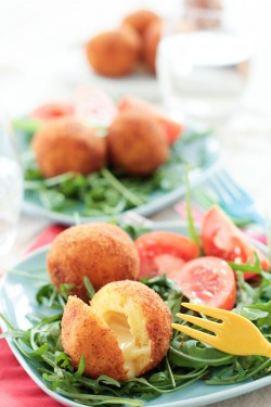 Croquettes Potatoes with Munster