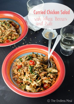 Curried Chicken and Wheat Berry Salad Recipe