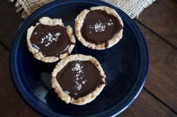 Dark Chocolate Pecan Tartlets Recipe