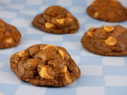 Double Chocolate Peanut Butter Chip Cookies Recipe