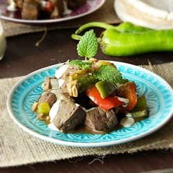 Egyptian Beef Liver recipe