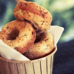 Fat Free Baked Apple Donuts