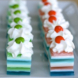Football Team Color Jello Shots Recipe