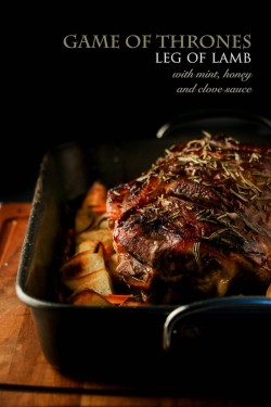 Game of Thrones Leg of Lamb with Mint Honey…