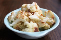 Garlic Roasted Cauliflower