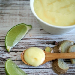 Ginger Lime Curd Recipe