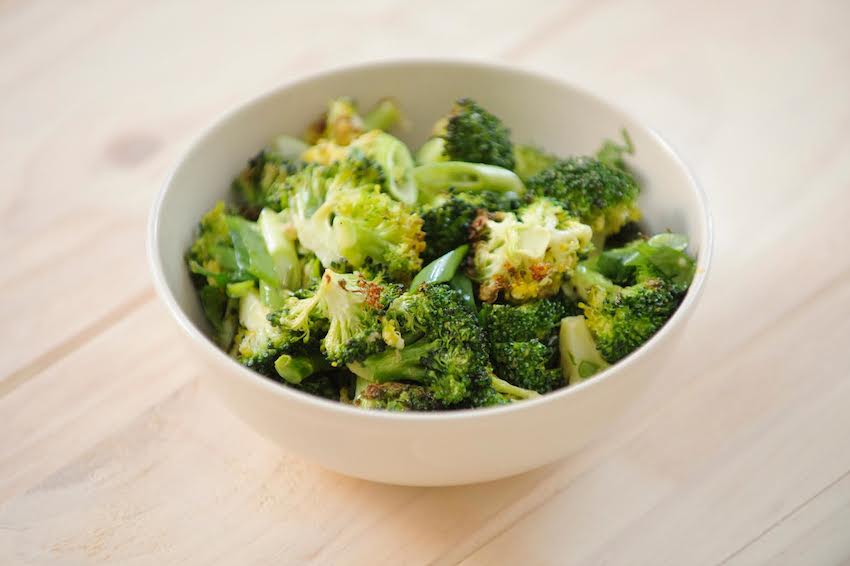 Ginger Sesame Roasted Broccoli Recipe