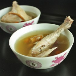 Ginseng and Chinese Herbal Soup