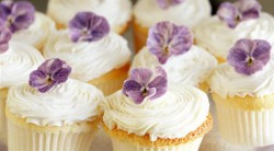 Gluten Free Cupcakes with Violet cream Recipe