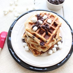 Gluten Free S'Mores Waffles