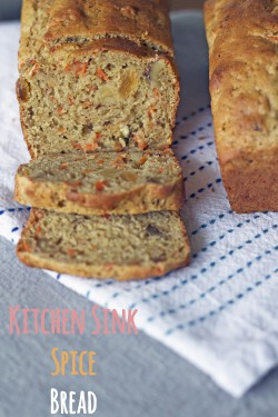 GlutenFree Kitchen Sink Spice Bread