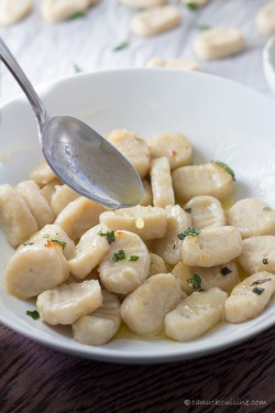 Gnocchi with Basil Butter Sauce Recipe