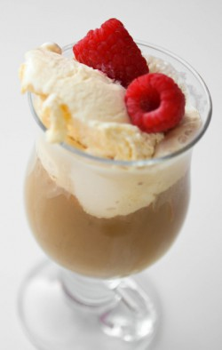 Godiva Raspberry Ice Cream Coffee