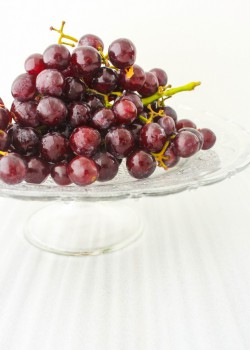 Grapes Hazelnuts in Orange Creme Anglaise Recipe