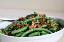 Green Bean Amandine Recipe