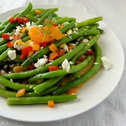 Green Beans with Tangerine and Dill