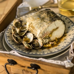 Hake Fish with Cider Sauce Recipe