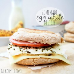 Homemade Egg White Delights Breakfast Sandwich Recipe