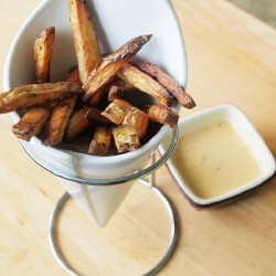 Homemade French Fries and Mayo