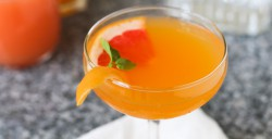 Honey Grapefruit Martini Recipe